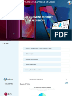 LG W Series vs Samsung M Series Report