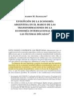 Evolución de La Economia en Argentian. Basualdo