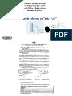 Formato de Informe de Tesis - UNT
