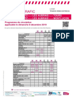 Axe q - Info Trafic - Trains Remi Express Du 08-12-2019