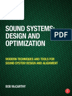 Sound Systems - Design and Optimization (3rd Edition)