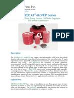 BioPOP Data Sheet