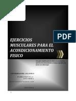 Guia de Ejercicios Musculares Para El Acondicionamiento f Sico
