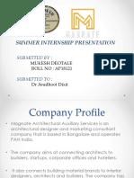 Marketing Internship Ppt