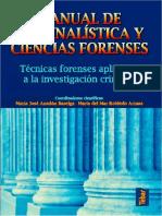 Manual de Criminalística y Ciencias Forenses-María Anadón Baselga