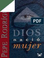 Dios Nacio Mujer (1)