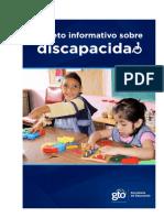 Folleto Informativo Discapacidad