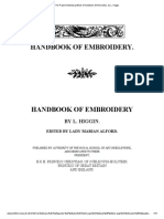 The Project Gutenberg eBook of Handbook of Embroidery, By L. Higgin