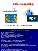 Bridge Definitions Well and Pile Foundations Concrete Requirements