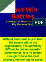 Must Win Battles
