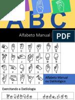 Alfabeto Linguagem de sinais