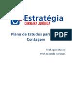 Roteiro de Estudos Advocacia Pública PGM Contagem