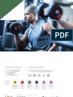 Bull Dynamics® Brand New 10 Pair Rubber Round Dumbbells Set 2.5KG Rack 25KG
