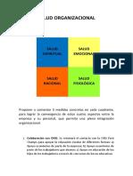 Salud Organizacionalv1