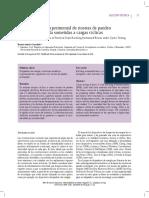 Caracterización de riostras de pandeo restringido