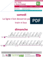 Ligne 51 - Bordeaux Dax Hendaye