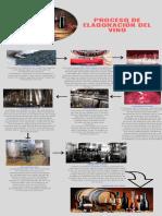 Infograma de Elaboración de vino
