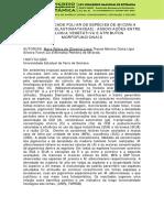 Funcionalidade Foliar de Espécies de Miconia Ruiz & Pav. (Melastomataceae) Associações Entre a Fenologia Vegetativa e Atributos Morfofuncionais