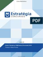 Direito Tributário p/ PGM Santos (Procurador) 2019  aula 00