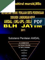 139036138-TEKNIK-PENILAIAN-AMDAL-UKL-UPL-DELH-DPLH-BLH-JATIM-ppt