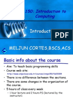 MELJUN CORTES--IT102 Intro Turbo C Computing