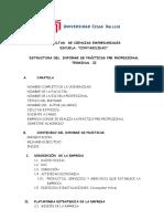 ESTRUCTURA DEL INFORME  PPP II  CONTABILIDAD.doc