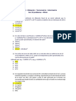 Control 8 - Dilatación - Termometría - Calorimetría
