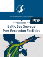 Baltic Sea Sewage Port Reception Facilities. HELCOM Overview 2014