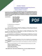 DECRETO SUPREMO 004 1998EF