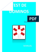 Manual Del Test Dominos