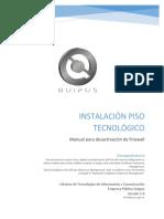 13 - Procedimiento - Desactivar Firewall