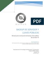 14 - Manual Para Backup y Llaves Del Servidor