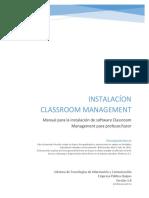 16 - Manual de Instalacion Classroom Management