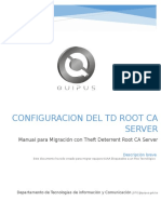 18 - Manual Configurar Migracion Con Theft Deterrent Root CA Server_actualizado