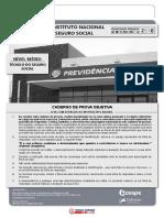 Simulado INSS 2018- COM Gabarito