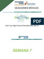 COMUNICACIONES MÓVILES - SEM7