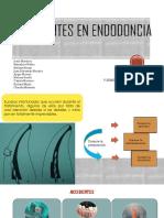 Accidentes en Endodoncia Completo
