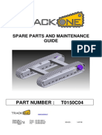 Track Base Spare Parts and Maintenance Guide t0150c04_a