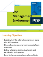 The Management Environment 1