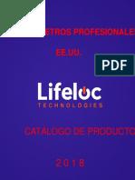 Catalogo Alcoholimetros Profesionales 2018 Lifeloc