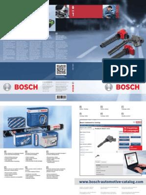 BOBINA d/'accensione Bosch 12 Volt Adatto per VW Maggiolino Porsche 356 912 914 Karmann Ghia