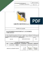 Procedimiento de Mantenimiento de Puertas Cortafuego Version 26.Docx - Word