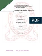 Analisis Intertextual, Arely, EVALUADO 9.0