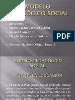 MODELO PEDAGOGICO SOCIAL DIAPOSITIVAS si.ppt