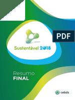 Resumo Final – Sustentável 2018