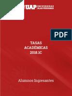 Tasas academicas