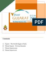 Vibrant Gujarat 2011, The Global Business Hub