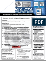DJConsoleMK2V2 VDJ Product Sheet ESP