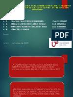 Modelo de Sustentación Del Proyecto de Investigación 2019