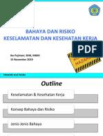 Materi Hazards & Risks_URINDO_15 Nov 2019